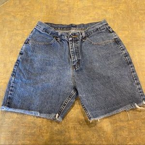Vintage Riders Women's Cut Off Jean Shorts